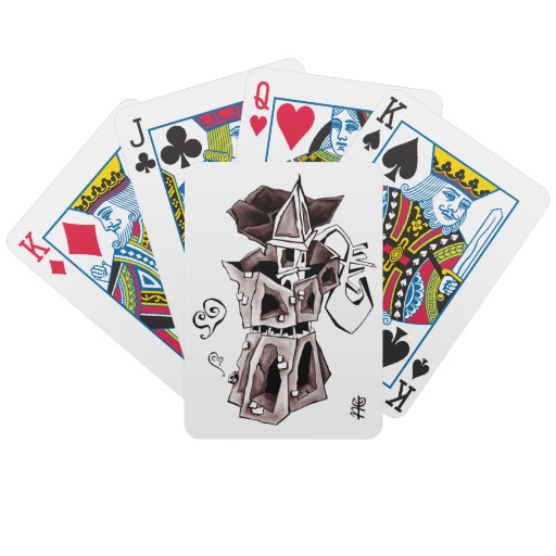 Moka playing cards gift Venice Italy
