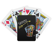 Spritz aperol playing cards gift Venice Italy